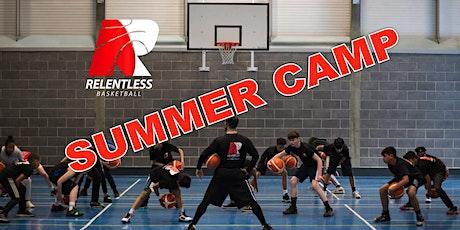 SUMMER CAMP-RELENTLESS BASKETBALL UK (15+yrs olds) tickets