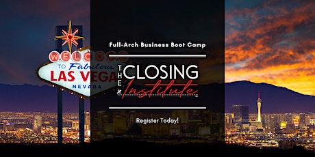 The Closing Institute Boot Camp Oct 2021 tickets
