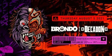 BRONDO B2B DECADON tickets
