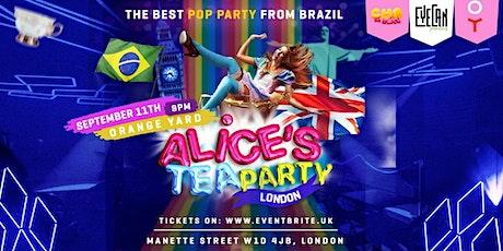 Chá da Alice Brazilian Party - Alice's Tea Party tickets