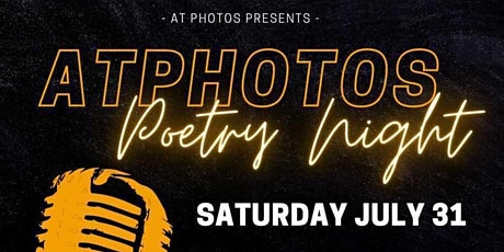 ATPhotos Presents: A Poetry Night tickets