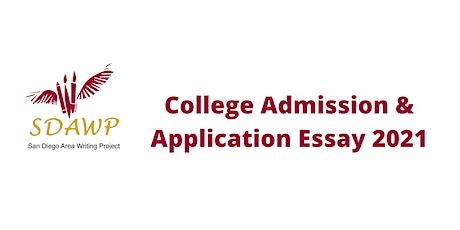 College Admission & Application Essay | Virtual YWC 2021 tickets