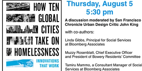 How Ten Global Cities Take on Homelessness: Innovations that Work tickets