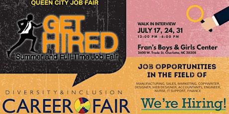 Queen City Summer Job Fair tickets