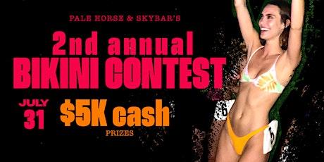 Pale Horse's 2nd Annual Bikini Contest tickets