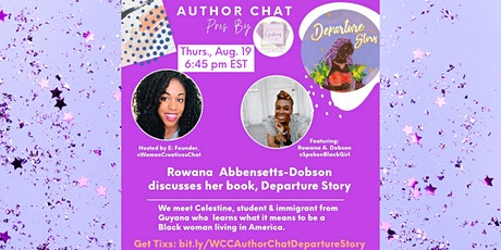 Writing our Stories: Chat w/ Caribbean Author Rowana Abbensetts-Dobson tickets