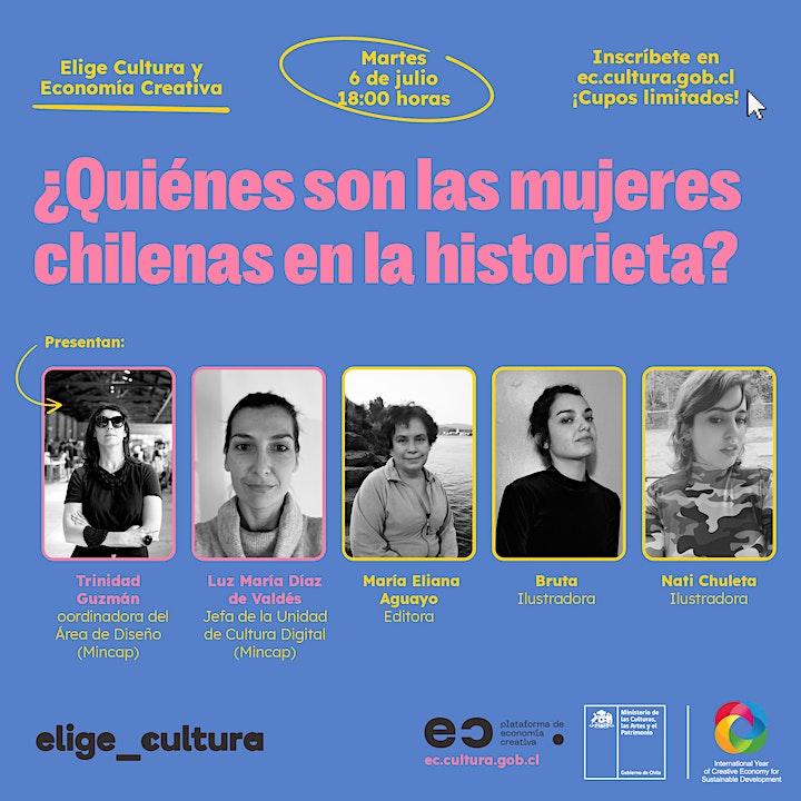 Imagen de ¿Quiénes son las mujeres chilenas en la historieta?