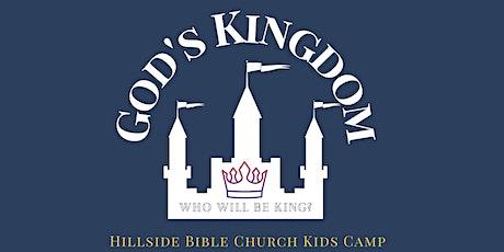 Hillside Bible Church Kid's Camp tickets