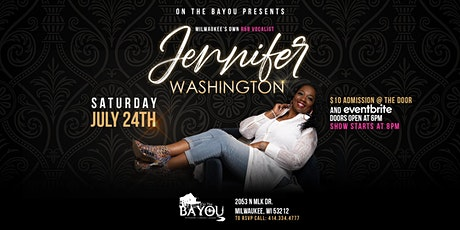 In Concert, Milwaukee's very own R&B Vocalist, Jennifer Washington! tickets