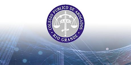 TALLER DE PRACTICA PROFESIONAL - Colegio Público de Abogados de Río Grande entradas
