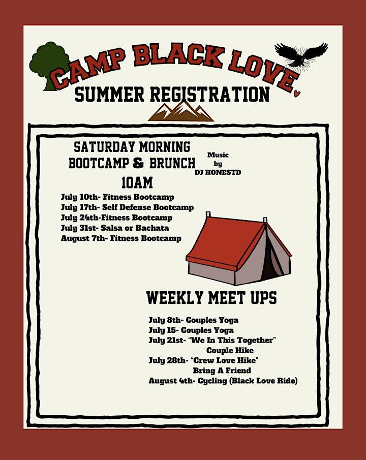 Mr. Al Hardy Presents Camp Black Love Saturday Bootcamps image