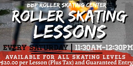 Saturday Roller Skating Lessons tickets