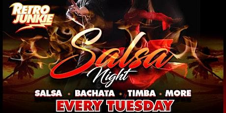 Salsa Tuedays @ Retro Junkie Bar tickets