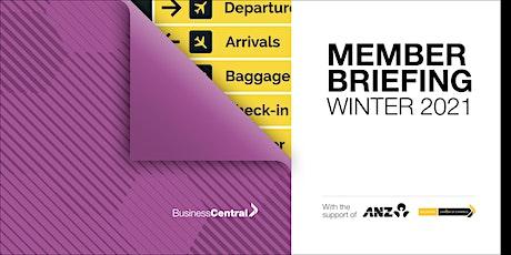 Member Briefing  Winter 2021 - Wellington tickets