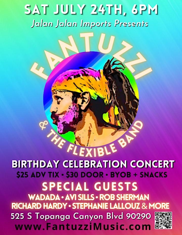 Fantuzzi & The Flexible Band Celebration image