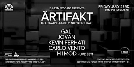 E-HRZN Records presents: ARTIFAKT @ Treehouse Miami tickets