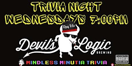 WEDNESDAY NIGHT TRIVIA tickets