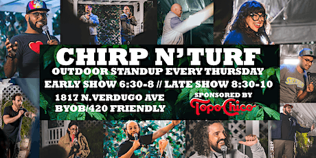 CHIRP N' TURF: Late Show w/Brad Wenzel, Alice Hamilton, and more! tickets