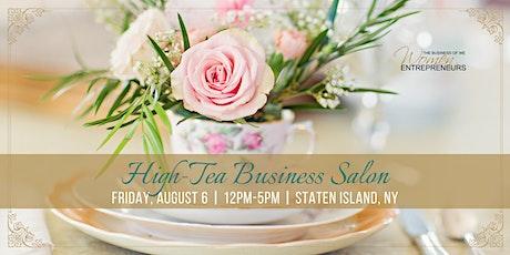2021 HIGH-TEA BUSINESS SALON tickets