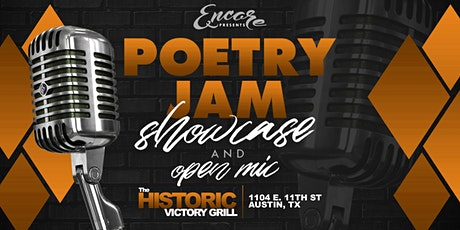 Poetry Jam   Open Mic and Showcase 8.6 tickets