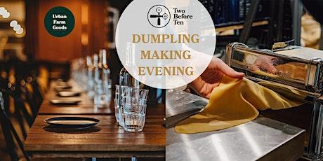 Dumpling Making Evening followed by an Asian Banquet tickets