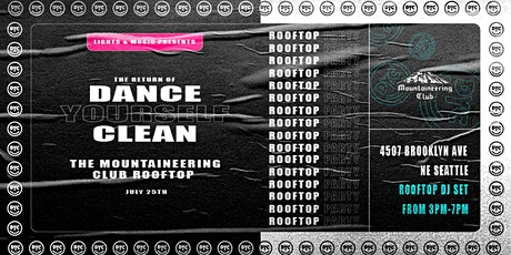 Dance Yourself Clean  Rooftop Party tickets