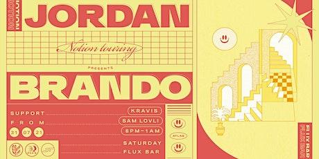Jordan Brando - FLUX tickets