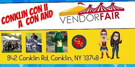 Conklin Con II A Crafters Event/ Con tickets
