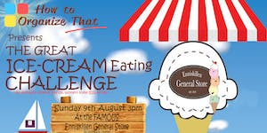 The Great Ice Cream Eating Challenge