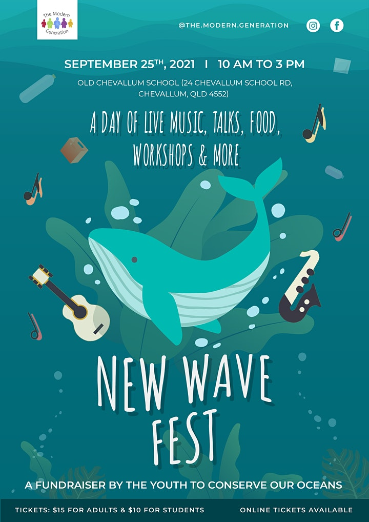 The Modern Generation's New Wave Fest image