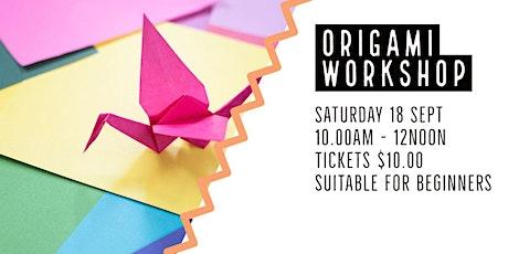 Origami  Workshop  | Trott Park tickets