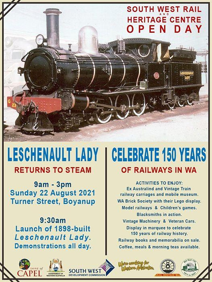 Fact or Faction 2021 - Ahead of STEAM 150 years of rail image