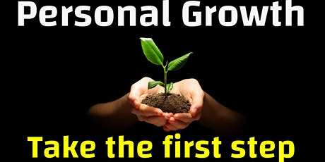 Personal Growth - Taking the first step tickets