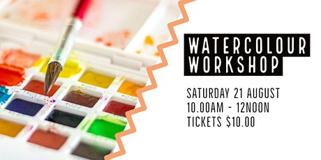 Watercolour Workshop  | Trott Park tickets