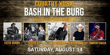 Bash In The Burg Country Music Festival tickets