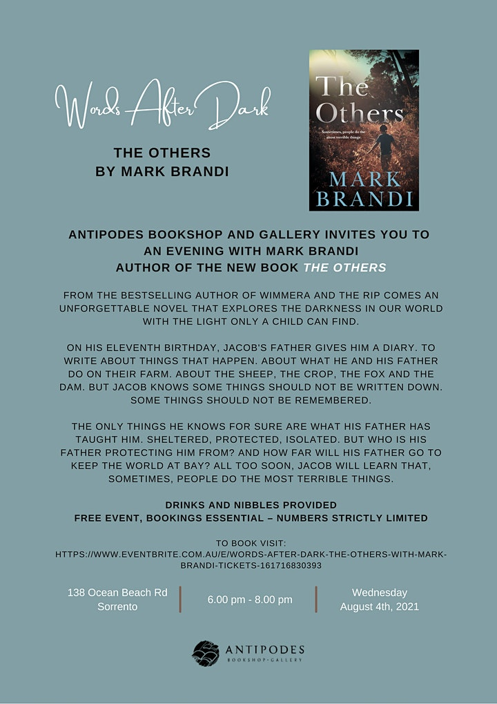 Words After Dark - 'The Others' with Mark Brandi image