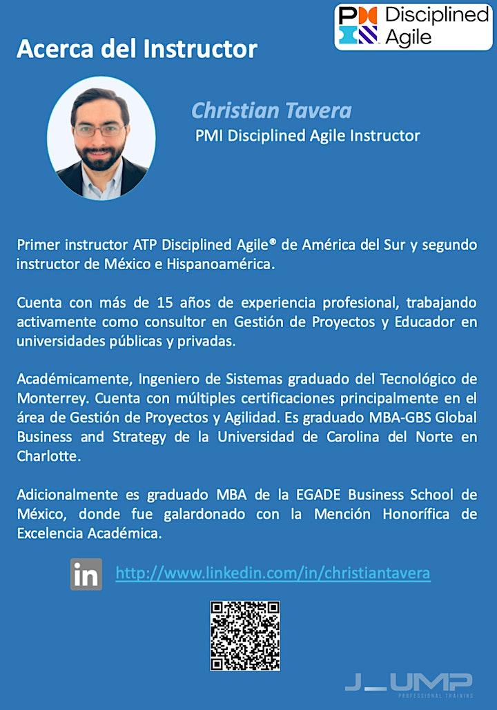 Imagen de PMI-DASM® Disciplined Agile Scrum Master - Curso Oficial de Certificación