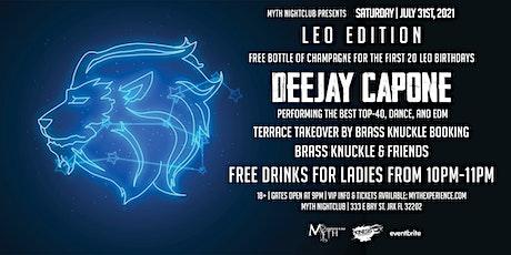 Saturday Night - LEO EDITION at Myth Nightclub | Saturday 07.31.21 tickets