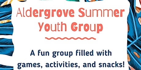 PCRS Summer Youth Group tickets