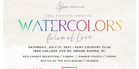 Watercolors IV tickets