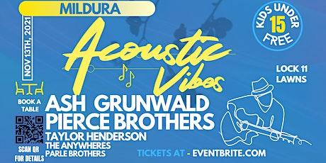 Acoustic Vibes Mildura tickets
