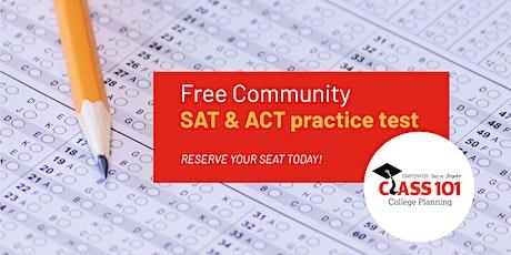 Class 101 FREE Community SAT or ACT Practice Test (Brandon, FL) tickets