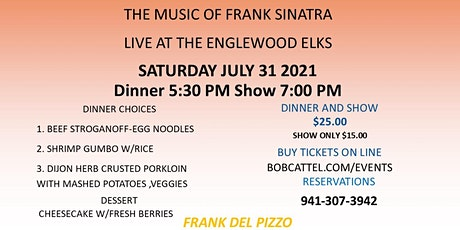 An Evening with Frank tickets