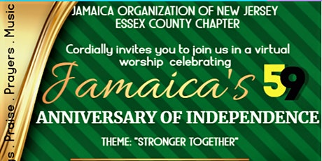 Jamaica's 59th  Anniversary  of independence  Celebration Worship  Service tickets