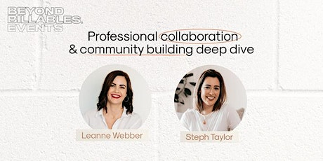 Community and connection - A Beyond Billables meetup tickets