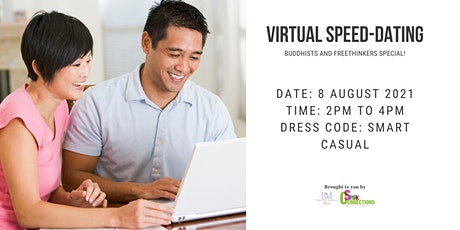 Virtual Speed-Dating: Buddhists and Freethinkers Special! (50% OFF) tickets