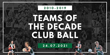 Teams of the Decade Ball tickets