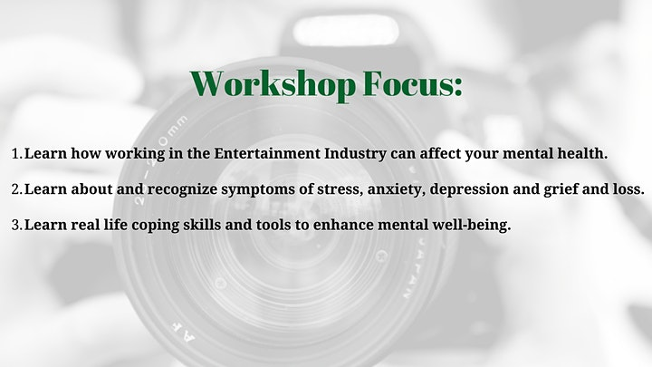Mental Health and Well-Being for Artists and Creatives image