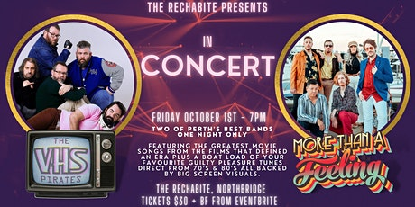 VHS Pirates & More Than A Feeling - In Concert tickets