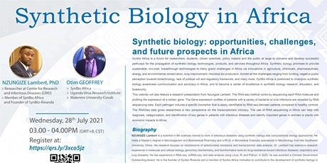 SINERGY Seminar Series – Synthetic Biology in Africa tickets